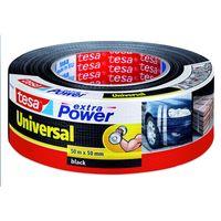 Tesa Extra Power Universal Tape Zwart 50 mm 50 Meter