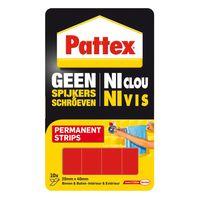 Pattex Montage Strip Geen Spijkers & Schroeven Permanent