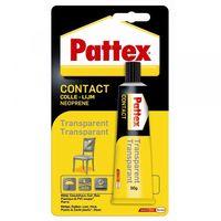 Pattex Contactlijm Transparant 50 Gram
