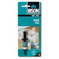 Bison Glaslijm Spuit Glass 2 ml