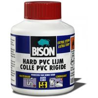 Bison PVC-Lijm Hard 100 ml + Kwastje