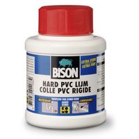 Bison PVC-Lijm Hard 250 ml + Kwastje