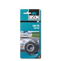 Bison Tape Zwart Car Fix 19 mm 1.5 Meter
