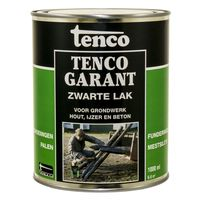 Tenco Tencogarant Zwarte Lak Teervrij 1 Liter