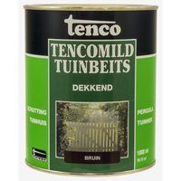 Tenco Tencomild Tuinbeits Dekkend Bruin 1 Liter