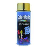 MoTip Hoogglans Spuitlak Colorspray Goudeffect 400 ml