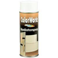 MoTip Radiatorlak Spray Zijdeglans Wit 400 ml