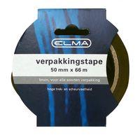 Elma Verpakkingstape Bruin 38 mm x 66 Meter