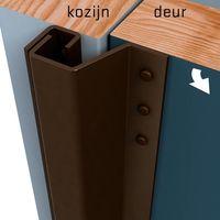Secustrip Anti-Inbraakstrip Buitendraaiend Plus Bruin 0-6 mm