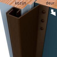 Secustrip Anti-Inbraakstrip Buitendraaiend Plus Bruin - 21-27mm