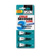 Bison Secondelijm Super Compact 3 x 0.8 Gram