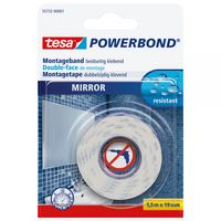 Tesa Powerbond Montagetape Spiegels 19 mm 1.5 Meter