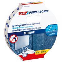 Tesa Powerbond Montagetape Spiegels 19 mm 5 Meter