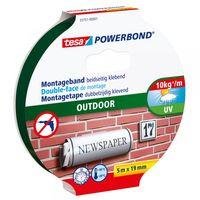 Tesa Powerbond Montagetape Outdoor 10 kg 19 mm 5 Meter
