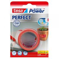 Tesa Extra Power Perfect Textieltape Rood 19 mm 2.75 Meter