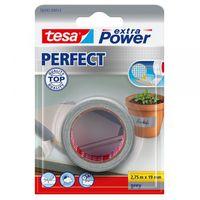 Tesa Extra Power Perfect Textieltape Grijs 19 mm 2.75 Meter