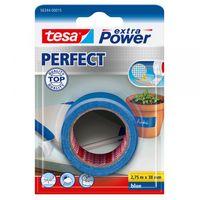Tesa Extra Power Perfect Textieltape Blauw 38 mm 2.75 Meter