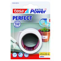 Tesa Extra Power Perfect Textieltape Wit 38 mm 2.75 Meter