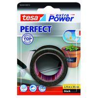Tesa Extra Power Perfect Textieltape Zwart 38 mm 2.75 Meter