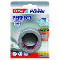 Tesa Extra Power Perfect Textieltape Grijs 38 mm 2.75 Meter