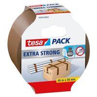 Tesa Verpakkingstape Extra Strong Bruin 50 mm 66 Meter