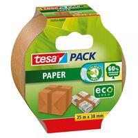 Tesa Verpakkingstape Paper EcoLogo 25 meter 38 Milimeter