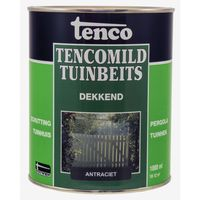 Tenco Tencomild Tuinbeits Dekkend Antraciet 1 Liter