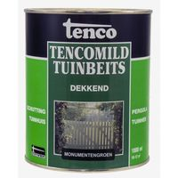 Tenco Tencomild Tuinbeits Dekkend Monumentengroen 1 Liter