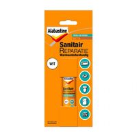 Alabastine Sanitair Reparatie Wit 12 ml