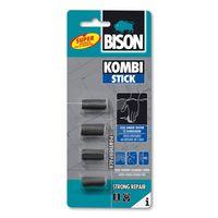 Bison 2-Componentenlijm Kombi Stick Portion 4 x 5 Gram