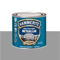 Hammerite Metaallak Zijdeglans Zilvergrijs Z215 - 750 ml