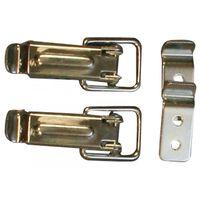 Eierkistsluiting / type H / 13x055 mm / staal verzinkt