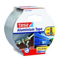 Tesa Aluminium Tape Zilver 50 mm 10 Meter