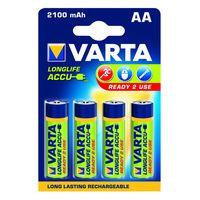 Varta Oplaadbare Batterij AA 2100 mA 4 Stuks