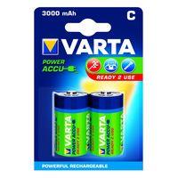 Varta Oplaadbare Batterij C 3000 mAh 2 Stuks