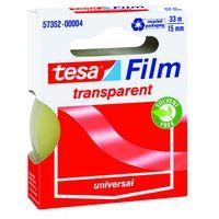 Tesa Film Plakband Transparant 15 mm 33 Meter