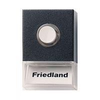 Friedland Beldrukker Pushlite Zwart D723