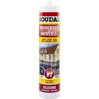 Soudal Siliconenkit Koker S-US Wit 310 ml