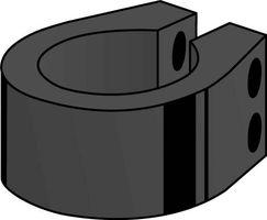 Betafence Bekafor Beugel Antraciet 48 mm - 6 stuks