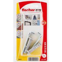 Fischer Plug SB8/6K Met Schroefduim 2 Stuks