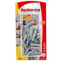 Fischer Constructieplug SXK 5 x 25 mm Met Schroef 25 Stuks