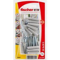 Fischer Constructieplug SXK 6 x 30 mm Met Schroef 15 Stuks