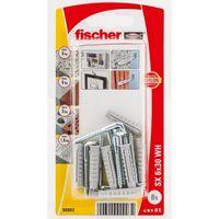Fischer Constructieplug SX6 Met Schroefduim 8 Stuks