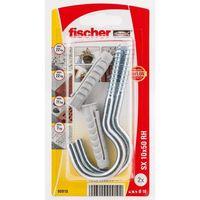 Fischer Constructieplug SX10 Met Schroefhaak 2 Stuks