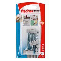 Fischer Hollewandplug Nylon Met PD12 Schroef 4 Stuks