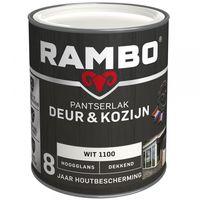 Rambo Pantserlak Deur/Kozijn Hoogglans Wit 1100 - 750 ml
