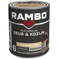 Rambo Pantserlak Deur/Kozijn Hoogglans Transparant 750 ml