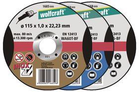 Wolfcraft Doorslijpschijf 1685-999 Ø 115 mm