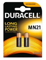 Duracell Batterij Security MN21 2 Stuks