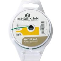 Hendrik Jan Binddraad Geplastificeerd 1.25 mm - 50 Meter